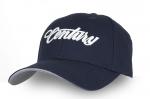 3D Baseball Hat - Blue/White